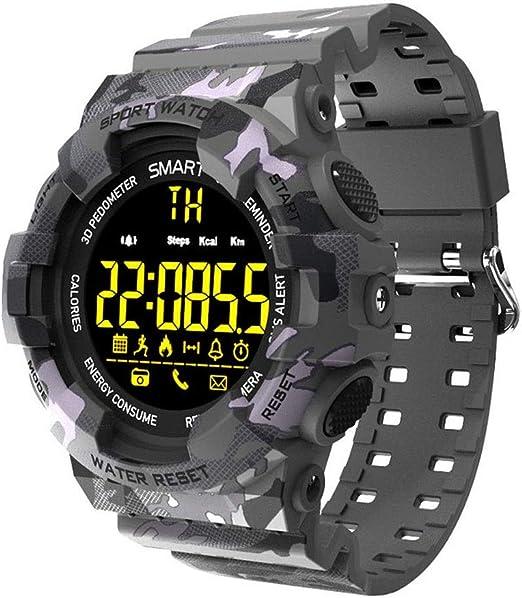 LCNINGZNSB BM18 Sports Smart Watch Camuflaje Reloj Inteligente ...