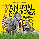 Animal Surprises 2018 Family Calendar
