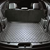 2011 - 2018 Ford Explorer Cargo Mat by Elements Defender (GUARANTEED PERFECT FIT) Heavy-Duty All-Weather Trunk & Cargo Liner - 100% Weather Proof - Fits All Explorer Models Between 2011 - 2017