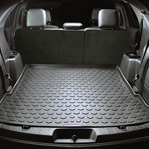 2011 - 2018 Ford Explorer Cargo Mat by Elements Defender (GUARANTEED PERFECT FIT) Heavy-Duty All-Weather Trunk & Cargo Liner - 100% Weather Proof - Fits All Explorer Models Between 2011 - 2017 ()