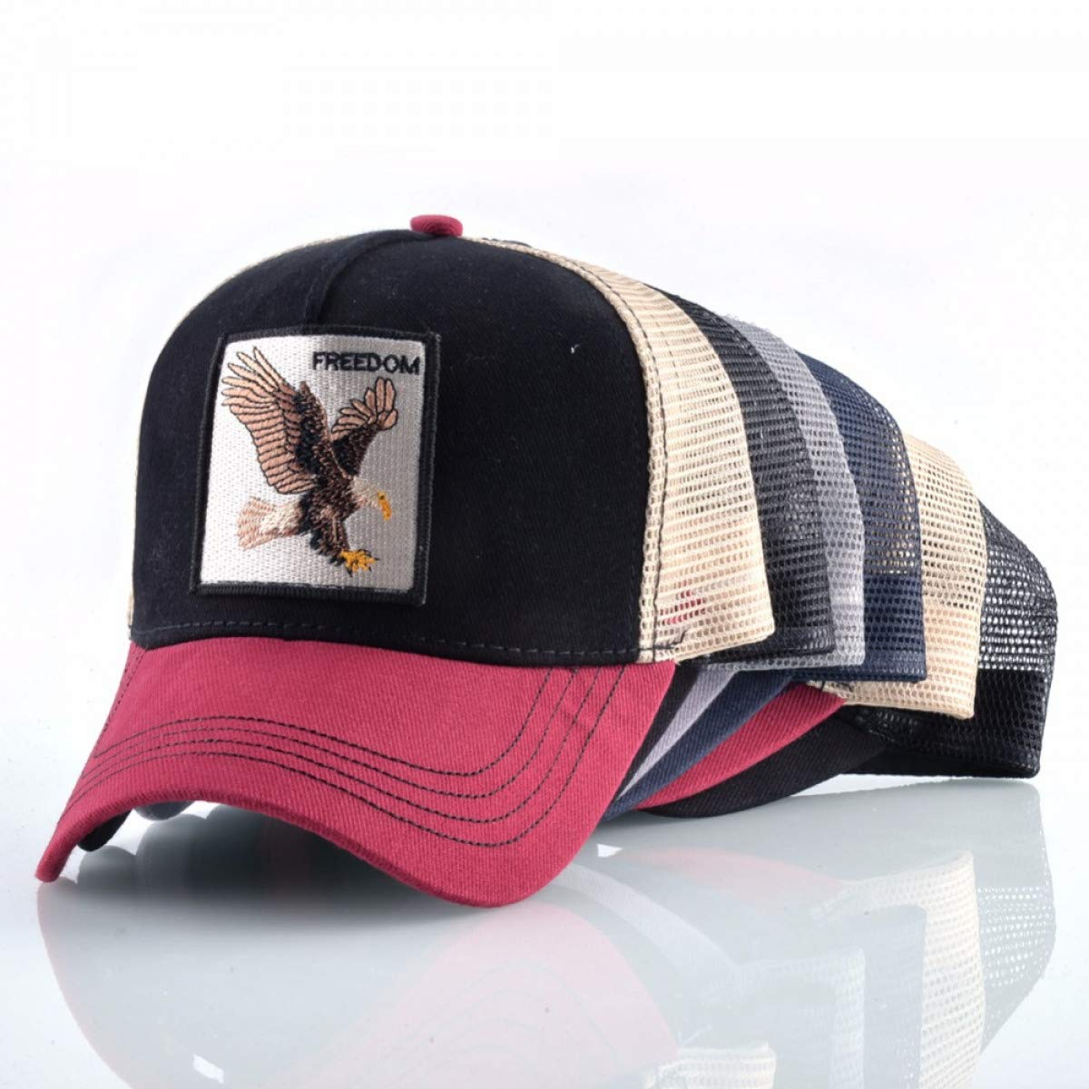 Mens Animal Farm Snap Back Trucker Hat Baseball Caps Women Snapback Hip Hop Hat at Amazon Mens Clothing store: