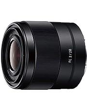 Sony SEL28F20 | Obiettivo con focale fissa 28 mm F 2.0, Full-Frame, Innesto E, SEL28F20, Nero