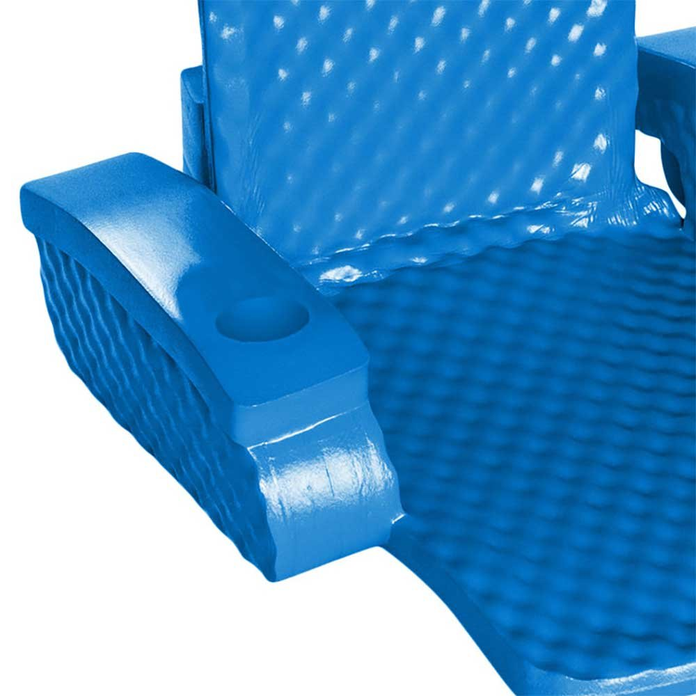 TRC Recreation Baja Folding Chair in Bahama Blue by Blue Wave (Image #4)