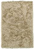 Cheap Super Area Rugs Shag Rug, Solid Sand Thick & Soft Carpet, 9′ X 13′