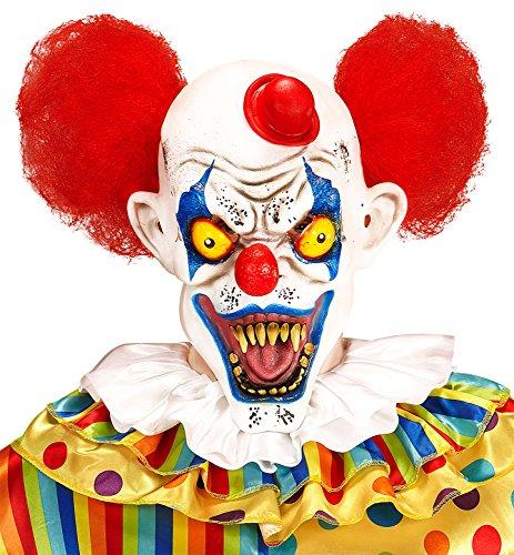 (widmann vd-wdm05402Mask Killer Clown with capellie Mini, One)