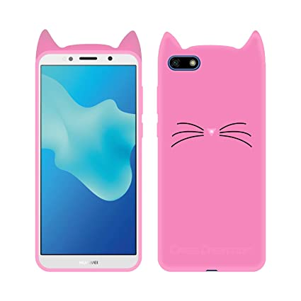 purchase cheap 43950 0ce00 Case Creation Huawei Honor 7S Cat Covers,Cute 3D: Amazon.in: Electronics