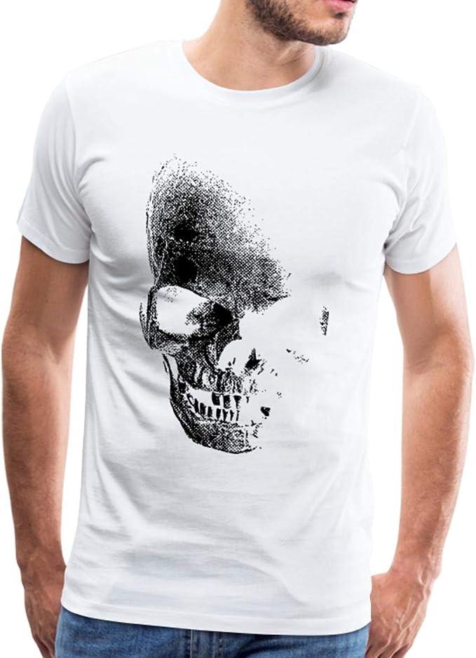Acheter t-shirt homme tete de mort online 2