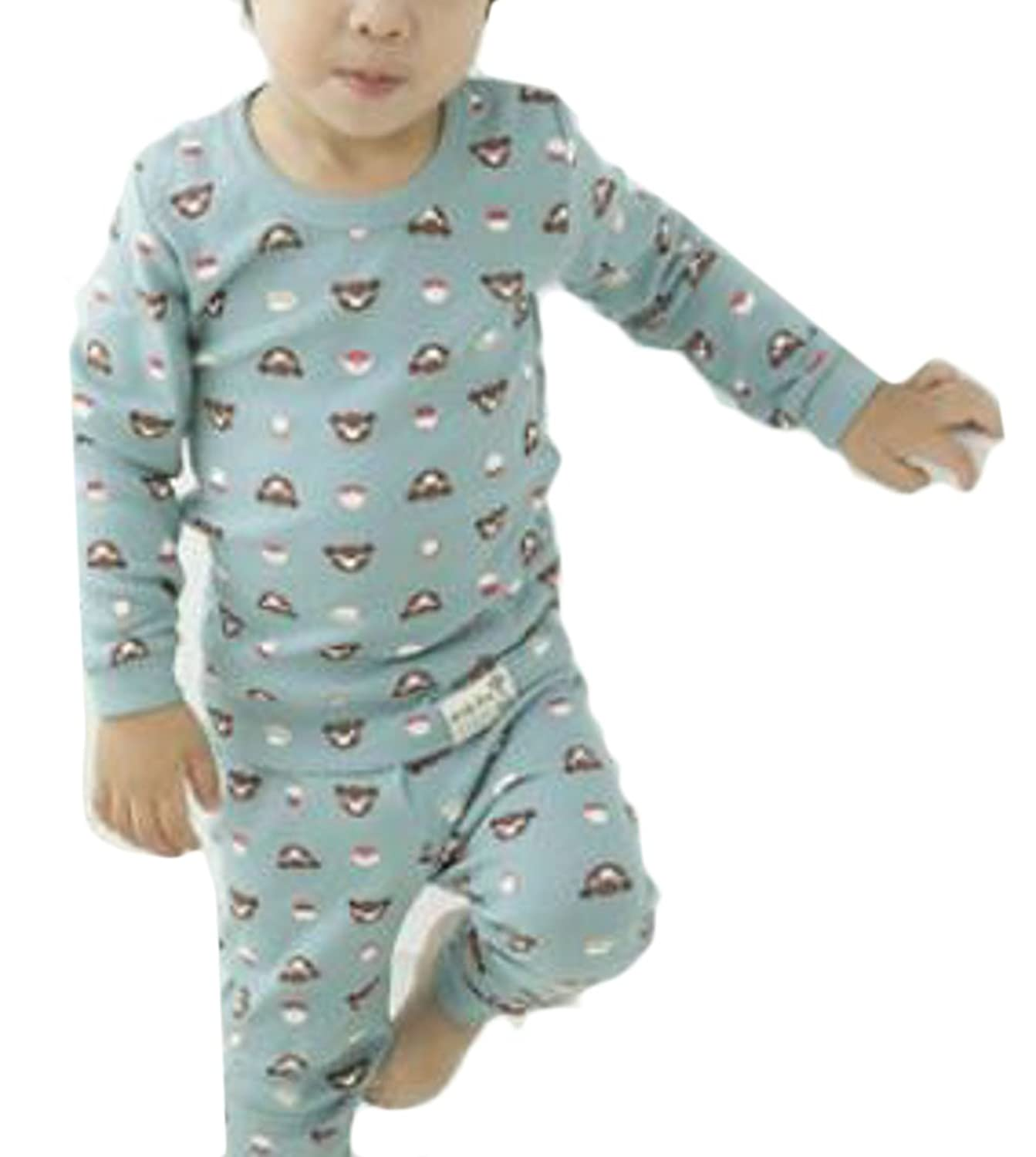 Pandapang Boys' Cotton Top and Pant Sleepwear Print Comfort Pajama Sets