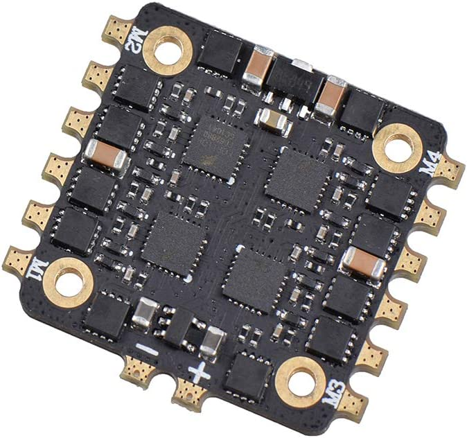 Veecome EM15A 25A 4-in-1 ESC BLHELI/_S 20x20MM DSHOT600 Brushless ESC 2-4S for RC Muiltitor Spare Parts Accessory 15A