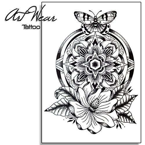 Tatuajes Temporales De Mandalas