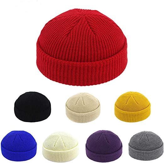 UNISEX BEANIE HAT FISHERMAN TRAWLER STYLE RETRO VINTAGE HIPSTER LOOK KNITTED NEW