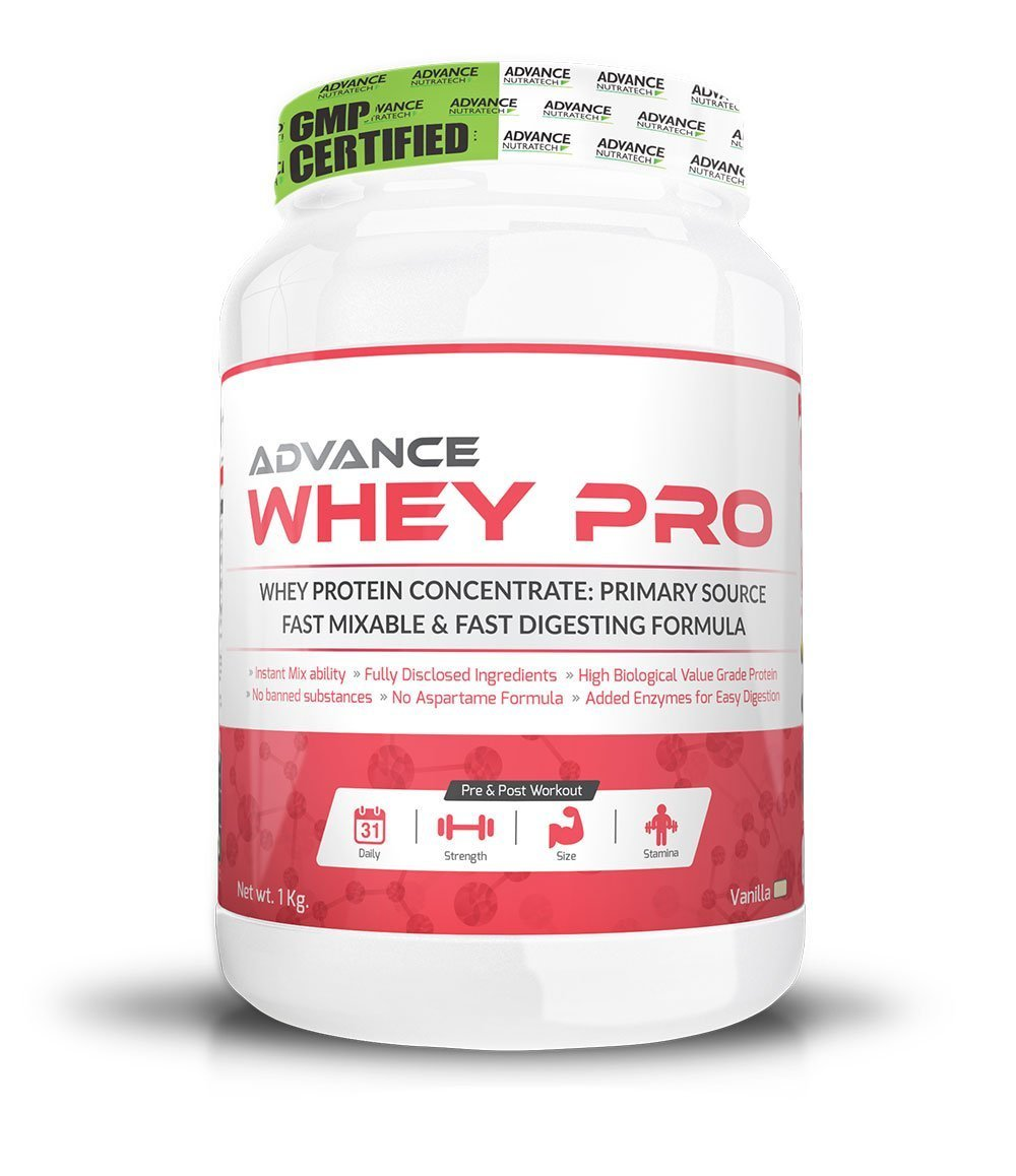 Amazon.com: Advance nutratech Whey Pro Proteínas en Polvo 1 ...