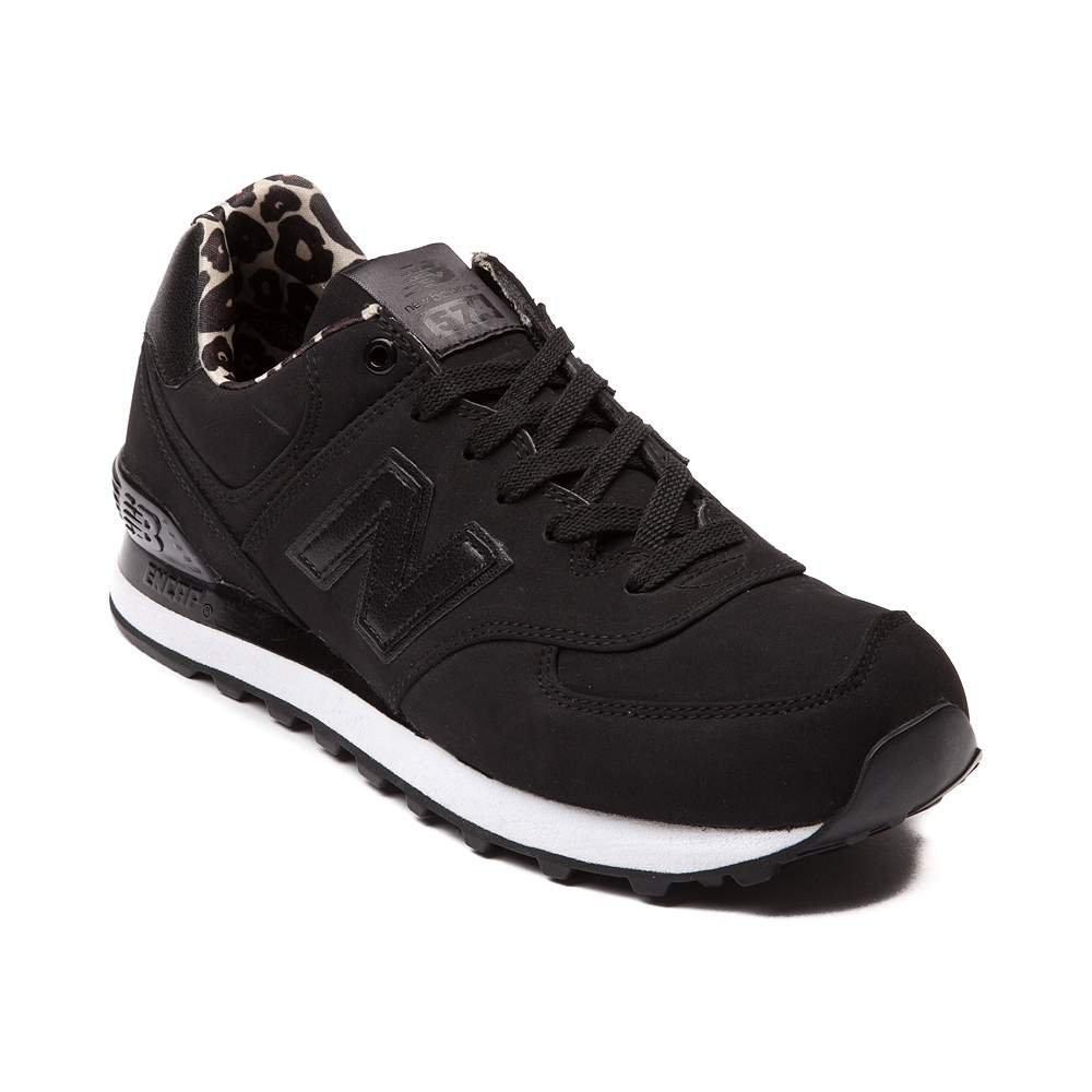New Balance Women's WL574 CORE Plus-W Lifestyle Sneaker B01N7P2FFP 9 M US|Black 1225