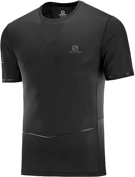 SALOMON Sense Ultra tee Camiseta, Hombre: Amazon.es: Deportes y aire libre