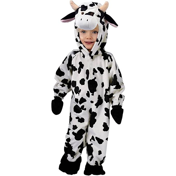 44df84402 Amazon.com: Infant Cuddly Cow Costume 6-12 months: Toys & Games