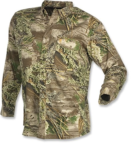 Browning Wasatch Long Sleeve Shirt, Realtree Max-1, Large