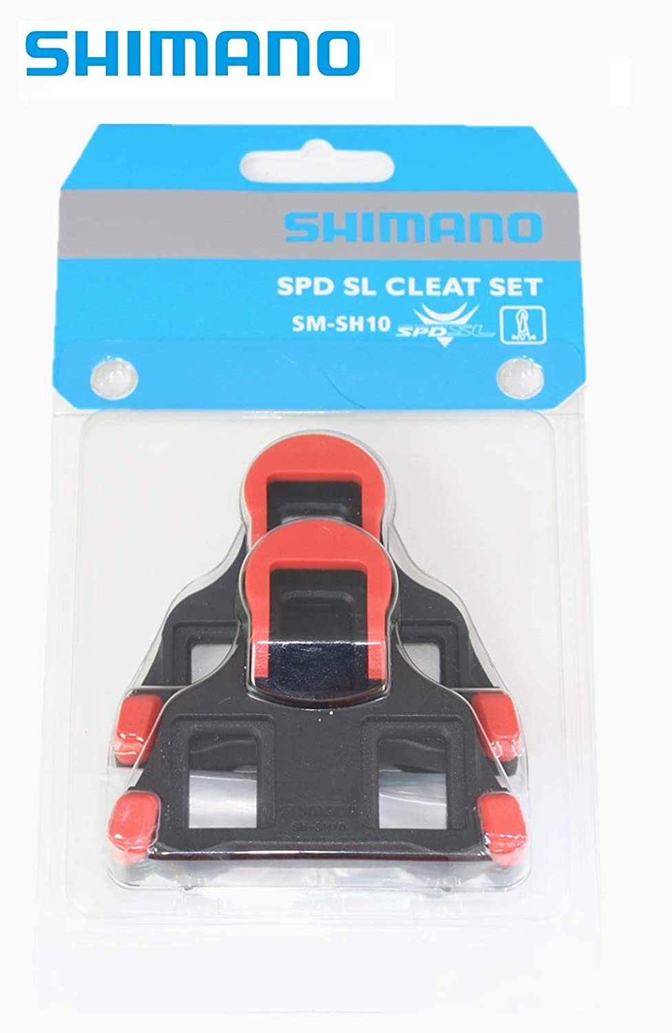 c5b283261c0b Amazon.com : Shimano SPD-SL SM-SH10 Cleat Set for Road (Red Cleat) : Sports  & Outdoors