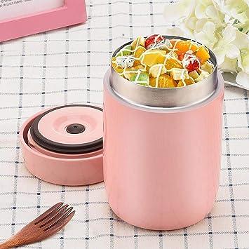 kati-way Thermos Alimentaire Chaud, Boîte Lunch Isotherme Repas Box sous  Vide en Acier 280cd253d0a2