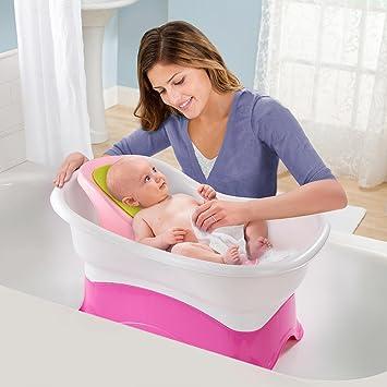 Amazon.com: Summer Infant Right Height Bath Tub - Pink: Health ...