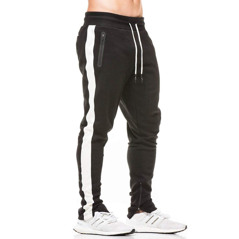 Blackzipper Medium Talk about heaven 2018 Mens Joggers Pants Fitness Men Sportswear Slim Man Sweatpants Gyms Jogger Track Pants