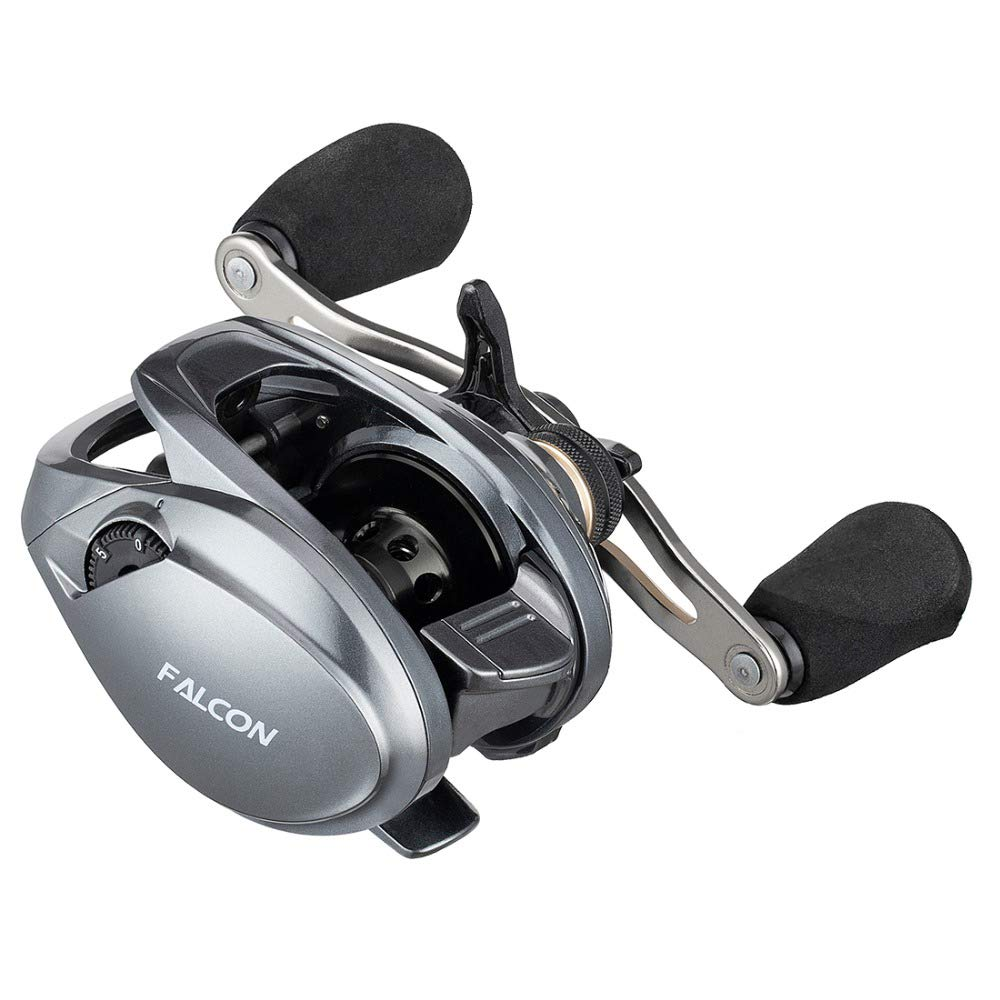 SeaKnight Falcon Baitcasting Fishing Reel,10 1 Shielded Bearings 17.6 Lb Carbon Fiber Drag,7.2 1,8.1 1 Gear Ratio High Speed Smooth Reels