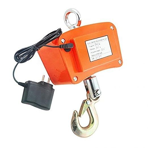 Denshine Peso escala 500 kg/1100 Crane báscula Digital báscula para colgar Industrial de alta resistencia: Amazon.es: Industria, empresas y ciencia