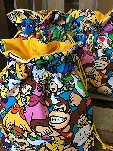 Amazon Super Mario Birthday Treat Bag Super Mario Birthday
