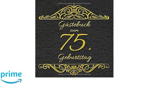 Geburtstagswunsche zum 75 ten