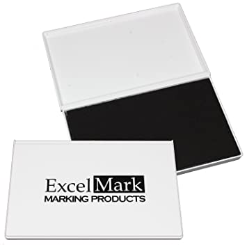 ExcelMark Rubber Stamp Ink Pad Extra Large 4 1 4quot By 7