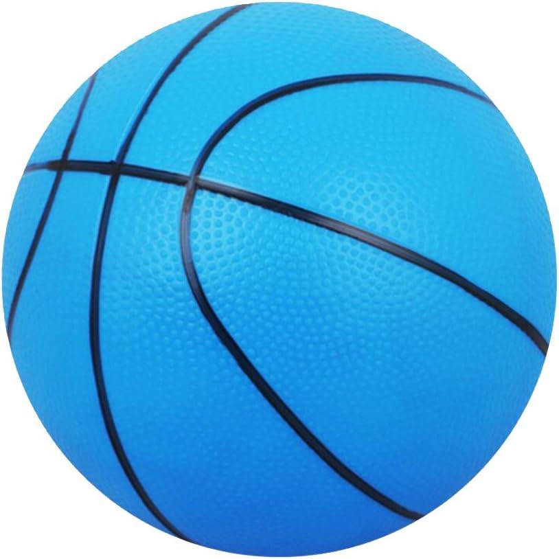 Toygogo Pack 2 Lightweight PVC 16cm Mini Basketball Bouncy Ball Kids Boys Girls Toy