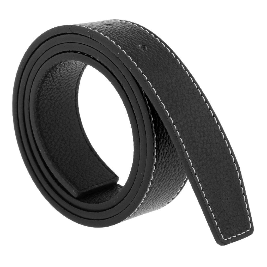 Fenteer Cinturino Cintura Abito Da Uomo Casual Cinture Di Ricambio Jeans Cintura Regolabile Senza Fibbia Regalo Taglia unica