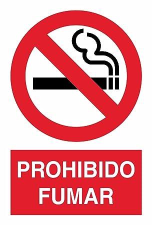akrocard Cartel Resistente PVC - Prohibido Fumar: Amazon.es ...