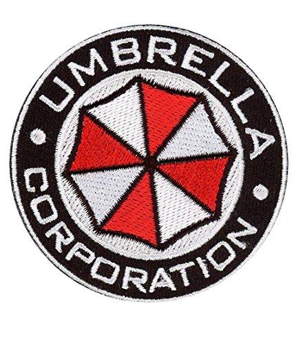 Resident Evil USS Umbrella Corporation Round Security Service Costume (Umbrella Security Service Costume)