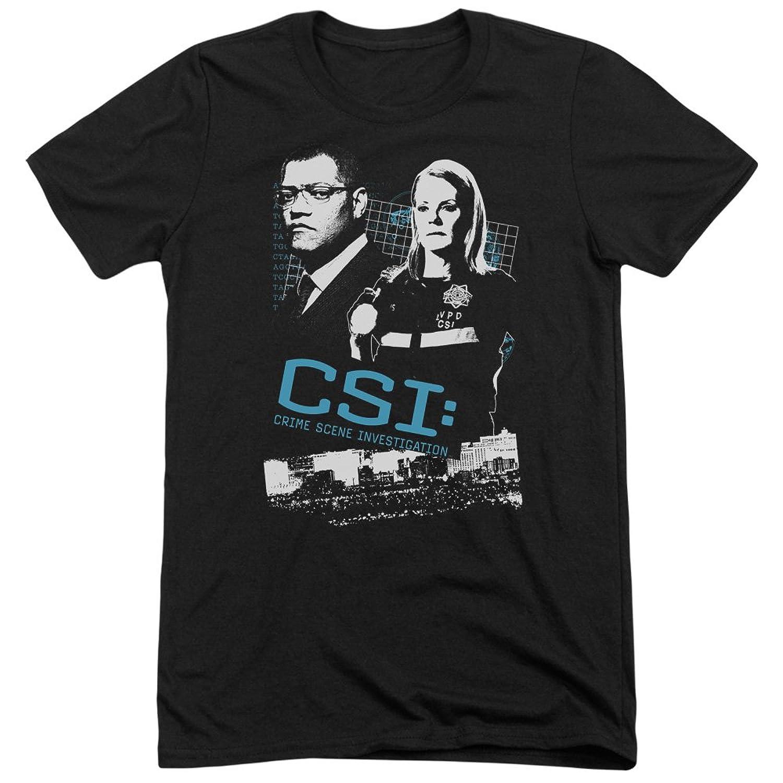 CSI Men's Investigate This Tri-Blend T-Shirt