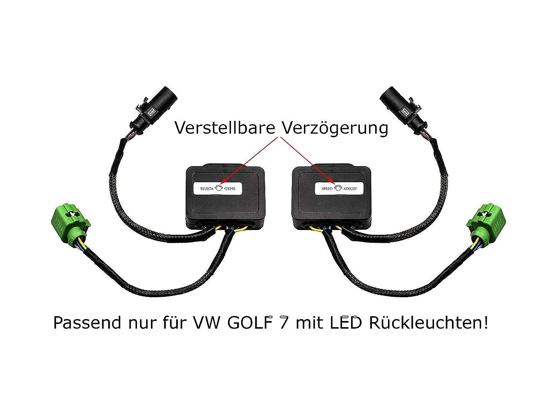2 x semi dinámico intermitente Módulo para LED Faros traseros unidad intermitente con LED Faros traseros: Amazon.es: Coche y moto