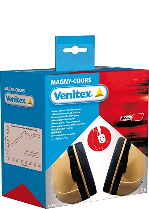 Venitex Delta Plus Magny-Cours High Performance Ear Defenders Ear Protection Snr 32