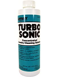 Lyman Turbo Sonic Jewelry Concentrated Cleaning Solution, 16 Fluid Ounce