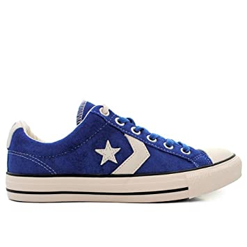 Converse Chaussures Suede Player 44 Star Bleu Ev Ox 112248 Homme pqFPwp