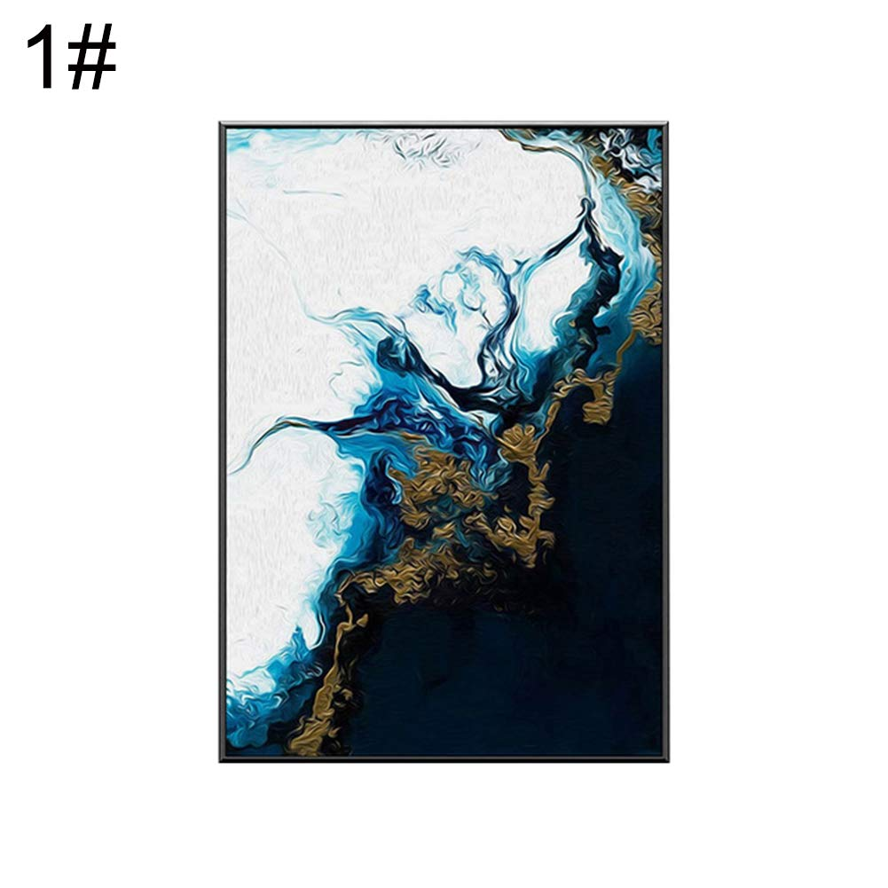 Lx10tqy Nordic Abstract Canvas Art Painting Background Wall Art Living Room Bedroom Decor 1# 4050cm