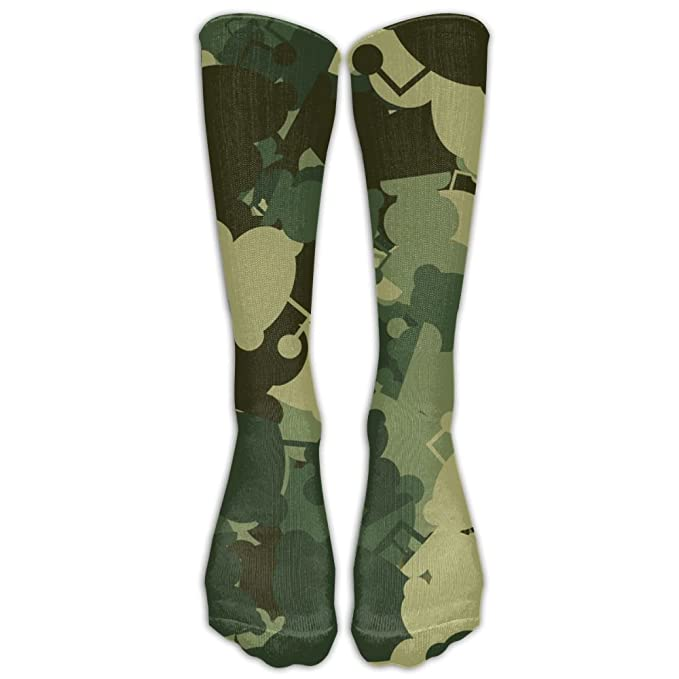 outlet online arrives great deals Amazon.com: Zaqxsw Camouflage Unisex Cute Crew Socks Funny ...