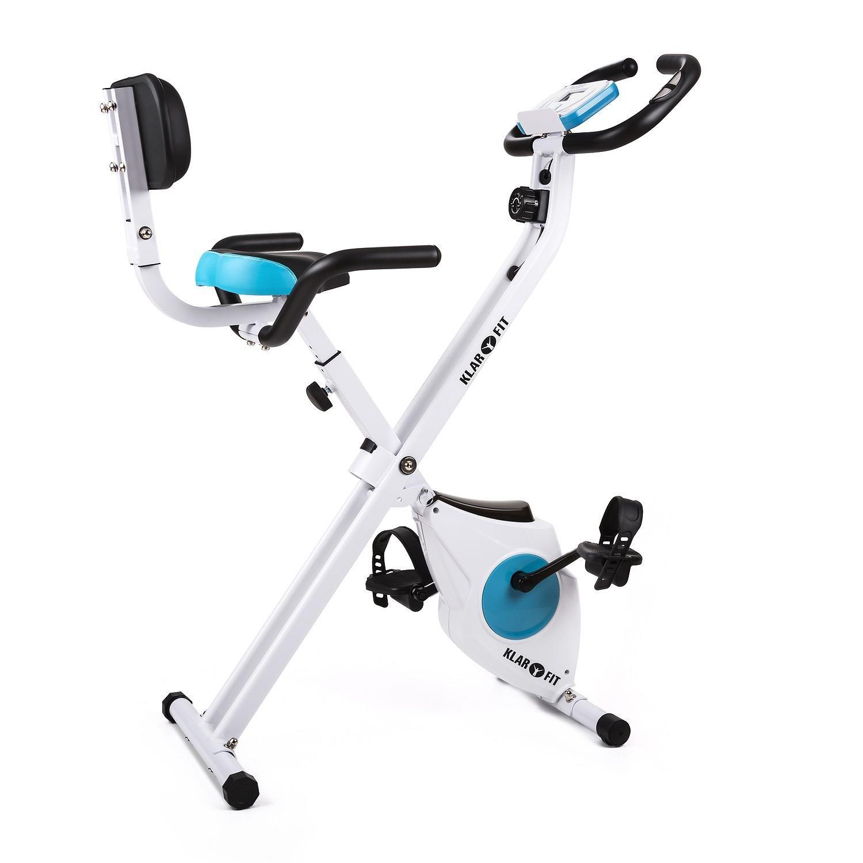 Klarfit Azura /• Fitnessbike /• Optional mit Power Ropes /& als 3-in-1 Relaxbike /• Ergometer /• Qualit/ät nach EN95720 Standard /• SilentBelt Riemenantrieb und Magnetwiederstand /• Tablethalter