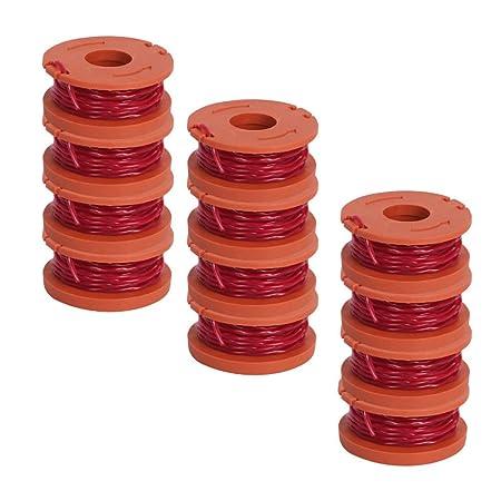 Lin-Tong Repuesto para 12 Cuerdas de Spool, Compatible con Worx ...