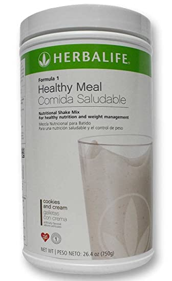 4 Nos Can of Herbalife Formula 1 Nutrition Shake Mix All Flavors :: French Vanilla
