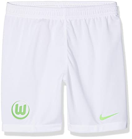 ab7a097b2a0e Nike Niños VFL Wolfsburgo Breathe Stadium Home Away Shorts  Amazon ...