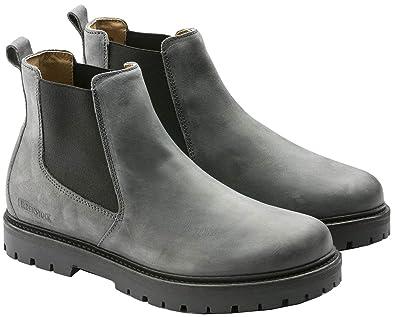 cc6d1c02e Birkenstock Mens Stalon Boot, Graphite, Size 40 EU (7-7.5 M US