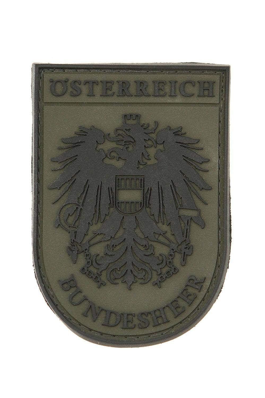Armee-Patch aus PVC Original Bundesheer Ärmelabzeichen STEINADLER PVC  Nationalitätsabzeichen