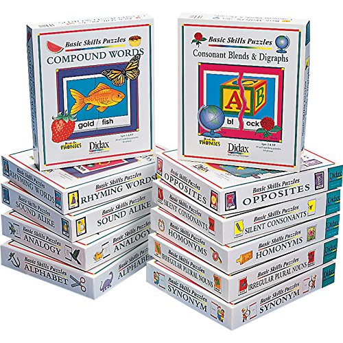 Didax Educational Resources Basic Reading Skills Complete Set