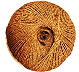 Coconut Fiber Works HOP Twine/Rope (Garden Twine) 7.5 Lbs per Spool Length +1150 feet,Thickness 5 mm from Our Own Production