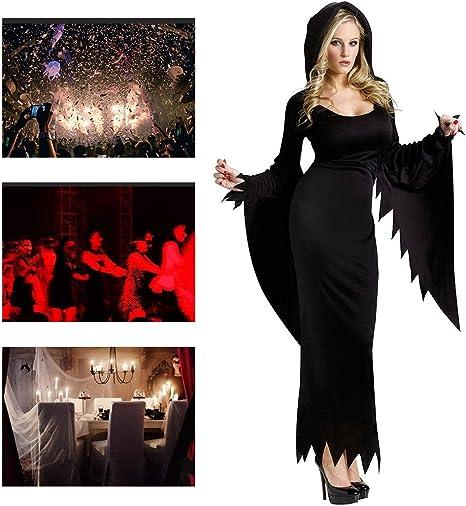 JH & MM Disfraz de Halloween para Mujer, Disfraz de Fantasma de ...