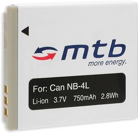 Original VHBW ® cargador para Canon Digital IXUS 130//220hs//230hs